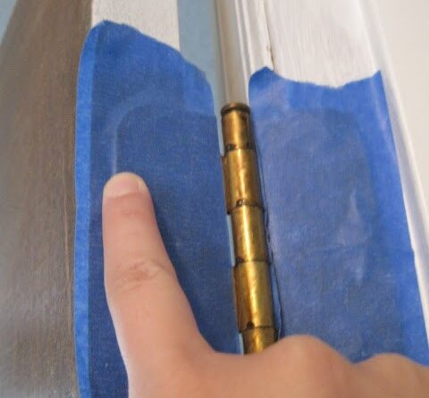 ทาสีประตู 3